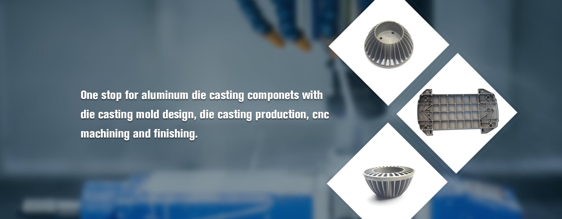 Aluminum die casting light cover