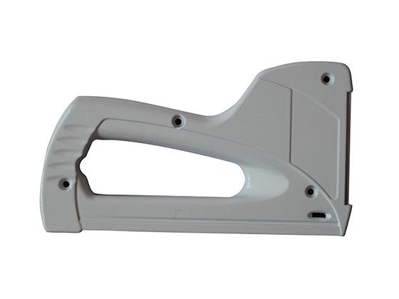 Aluminum die cast with powder coating