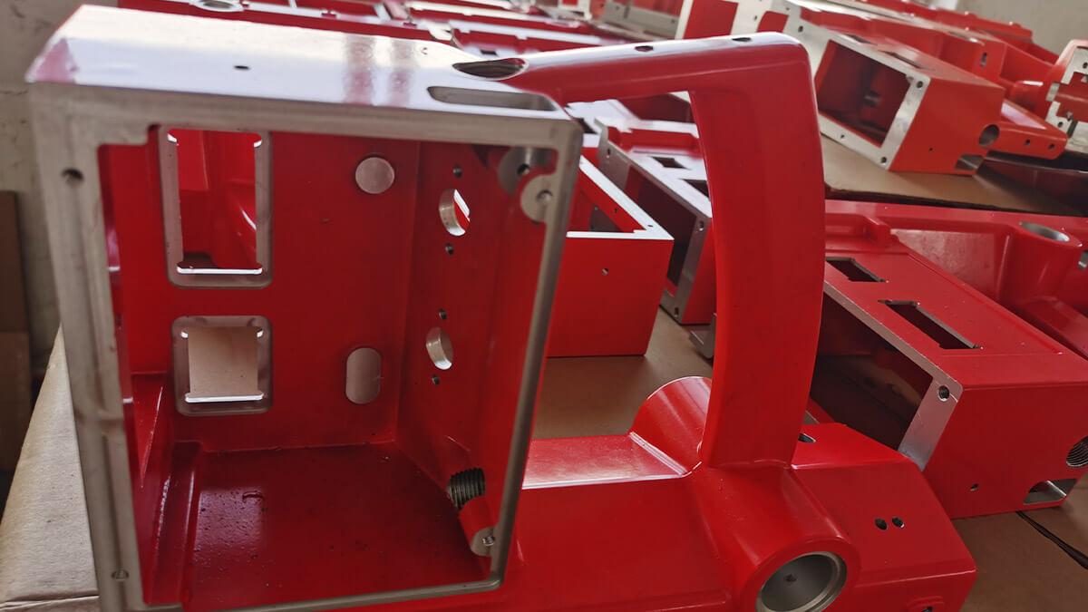 Aluminum die cast with precision machining