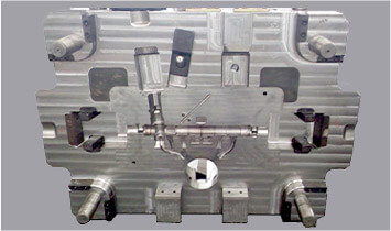 Aluminum die cast with chrome finishing